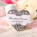 Personalized Heart Shaped Favor Tag - Garden (Set of 60)