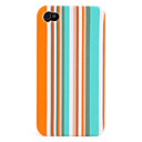 Colorful Stripe Pattern Case for iPhone 4 and 4S