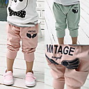 Boys Letters Printed 7/10 Length Pants