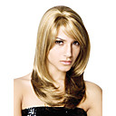 Lace Front Long High Quality Synthetic Straight Blonde Hair Wig