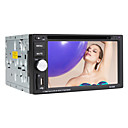 6,2 pulgadas de pantalla táctil digital de 2 DIN Car DVD Player con tv, rds