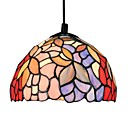 25W Tiffany Style Pendant Light Floral Design