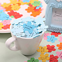 Personalized Sakura Shaped Paper Confetti - Pack of 350 Pieces (Random Color)