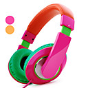 Kanen Pitaya Super Bass Stereo Headphone with Mic (Assorted Colors)