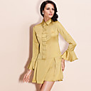 TS Flair Sleeve Fold Dress (More Color)