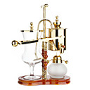 Kniglich Belgischen Balancing Siphon Kaffeemaschine Gold Messing poliert bb-7a