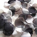 Handmade Black and White Leaves Decoration - Pack of 200 Pieces (4 Colors Mixed)