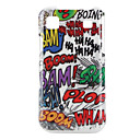 Scrawl Style Pattern Hard Case for Samsung S I9000