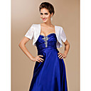Satin Wedding Jacket / Special Occasion Wrap (More Colors Available)