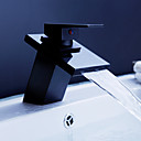 ORB Waterfall Bathroom Sink Faucet