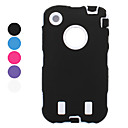 Anti Shock Robot Style Defender Case with Screen Guard for iPhone 3G and 3GS (Assorted Colors)