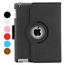Estuche de 4 Pliegues con Soporte para el Nuevo iPad e iPad 2 - Colores Surtidos