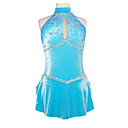 Fashion Harness Sleeveless Sequins Ice Skating Dress