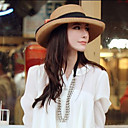 Lady Summer Straw Anti-sun Hat(Circumference 56-58cm)
