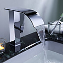 Sprinkle® by Lightinthebox - Contemporary Waterfall Bathroom Sink Faucet(Chrome Finish)