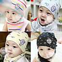 Hat Infant Baby Caps with Triangle Scarf(Circumference 19cm)