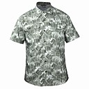 TOREAD Men'S Dark Green Short Sleeve Shirt
