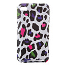 Rainbow Leopard Print Flexible TPU Case for iPod Touch 4 (Multi-Color)