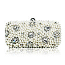 Elegant Handmade Beaded Satin Lady Handbag/ Clutches/ Evening Bags More Colors Available