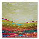 "Hand-painted Abstract Oil Painting with Stretched Frame 24"" x 24"""