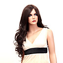 Capless Long High Quality Synthetic Japanese Kanekalon Big Wavy Wig Side Bang