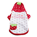 Strawberry Fairy Hoodie Coat for Dogs (XS-XL)