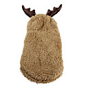 David's Deer Sherpa Hoodie Suit for Dogs (XS-XL)