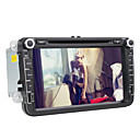 8 polegadas Car DVD Player com interface 3D para a Volkswagen (GPS 800x480, Bluetooth, DVB-T, RDS, CAN-BUS)