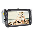 8 polegadas Car DVD Player com interface 3D para a Volkswagen (GPS 800x480, Bluetooth, TV, RDS, PIP)