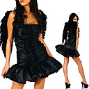Femmes d'ge Sexy Dark Angel Halloween Costume (1 Pieces)