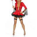 Sexy Corset Dress diable adulte Halloween Costume Démon