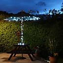 60 White Outdoor Led Solar Fairy Lights Christmas Decor Lamp Gifts