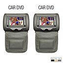 7 Inch Headrest DVD Player with TV, Game (1 Pair)