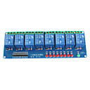 8-kanals 5v relemodul skjold for Arduino