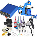 1 Gun Mini Tattoo Kit with Power Ink and Needle