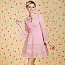 TS VINTAGE Flare Sleeve Lace Dress