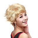Capless Short Wave Blonde High Quality Synthetic Hair Wig