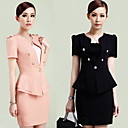 Women's Puff Sleeve Business Suit