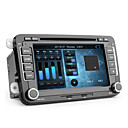 Android de 7 polegadas carro dvd player para vw (touchscreen capacitivo, gps, DVB-T, wi-fi, 3g)