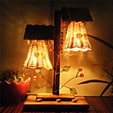 15W E14 Wood Vintage Table Lamp