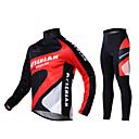 Otoo y el invierno MYSENLAN Trajes Ciclismo Estilo con Dual Side Fleece