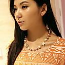 многоцветный женщин бисером короткое ожерелье.