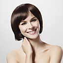 mono top 30% menschliches Haar braun bob Haar Percke