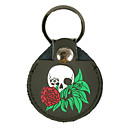 NG - (BPBC-5) Picks Holder/1-Piece con 3 Picks (Skull & Rose-Design)