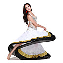 Dancewear Chinffon With Beading Performance Dance Top/Belt And Skirt for Ladies
