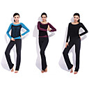 Yoga casual sportswear Suits 2 sets (met lange mouwen Yoga T-shirt + Yoga Pants)