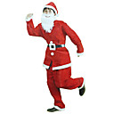 Red Christmas Santa Claus costumes de Noël (3 Pieces)