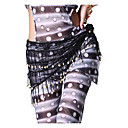 Dancewear Polyester with Bells Performance Belly Dance Belt for Ladies