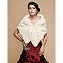  Gorgeous Faux Fur Wedding / Special Occasion Shawl With Lace / Rhinestone (More Colors)