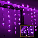 2Mx0.7M Purple Liefde LED String lamp met 60 LED's - Kerst & Halloween decoratie